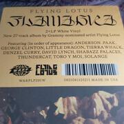 Double LP - Flying Lotus - Flamagra - Ltd. White Vinyl Edition