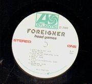 LP - Foreigner - Head Games