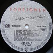 LP - Foreigner - Inside Information