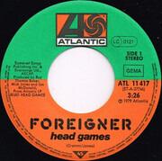 7inch Vinyl Single - Foreigner - Head Games