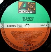 LP - Foreigner - Records - die cut gimmick sleeve