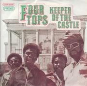 7inch Vinyl Single - Four Tops - Keeper Of The Castle - German White Label Promo