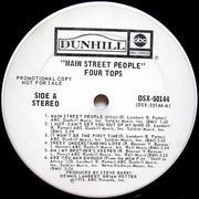 LP - Four Tops - Main Street People - US PROMO