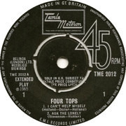 7inch Vinyl Single - Four Tops - Four Tops