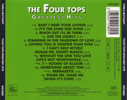 CD - Four Tops - Greatest Hits