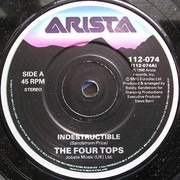 7inch Vinyl Single - Four Tops - Indestructible
