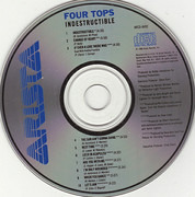 CD - Four Tops - Indestructible