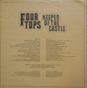 LP - Four Tops - Keeper Of The Castle