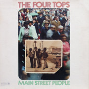 LP - Four Tops - Main Street People - Terre Haute Pressing, Blocks Label, Gatefold
