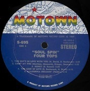 LP - Four Tops - Soul Spin