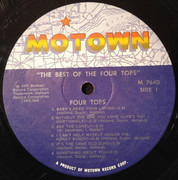 Double LP - Four Tops - The Best Of The Four Tops