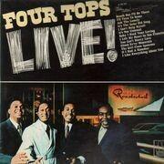 LP - Four Tops - Four Tops Live