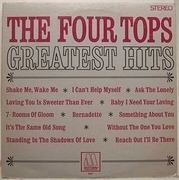 LP - Four Tops - Greatest Hits