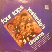 LP - Four Tops - Yesterday's Dreams