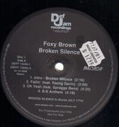 Double LP - Foxy Brown - Broken Silence - Promo. Still sealed