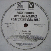 12inch Vinyl Single - Foxy Brown - Big Bad Mamma