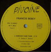 12inch Vinyl Single - Francis Bebey - L'Amour Tam Tam
