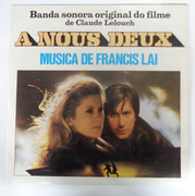 LP - Francis Lai - A Nous Deux (Banda Sonora Original Do Filme)