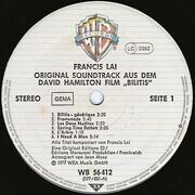 LP - Francis Lai - Bilitis