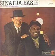 LP - Frank Sinatra - Count Basie - Sinatra-Basie: An Historic Musical First - Flipback cover