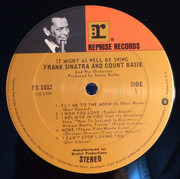 LP - Frank Sinatra , Count Basie Orchestra - It Might As Well Be Swing