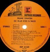 LP - Frank Sinatra - Ol´ Blue Eyes Is Back - Gatefold