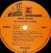 LP - Frank Sinatra - Ol´ Blue Eyes Is Back - Gatefold