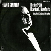7inch Vinyl Single - Frank Sinatra - Theme From New York, New York / that's what god looks like to me