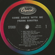 LP - Frank Sinatra With Billy May And His Orchestra - Come Dance With Me!