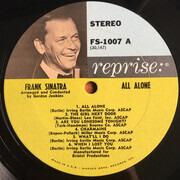 LP - Frank Sinatra - All Alone