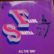 Double LP - Frank Sinatra - All The Way - Gatefolder