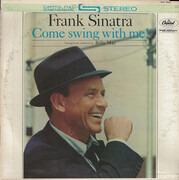 LP - Frank Sinatra - Come Swing With Me! - Scranton Pressing