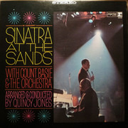 Double LP - Frank Sinatra - Sinatra At The Sands - Gatefold