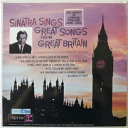 LP - Frank Sinatra - Sinatra Sings Great Songs From Great Britain
