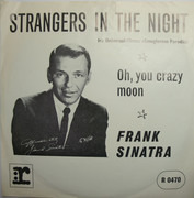 7inch Vinyl Single - Frank Sinatra - Strangers In The Night / Oh, You Crazy Moon