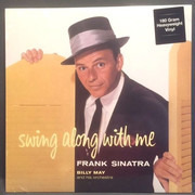 LP - Frank Sinatra - Swing Along With Me - 180GR.
