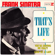 7inch Vinyl Single - Frank Sinatra - That's Life - + languette