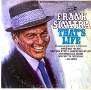 LP - Frank Sinatra - That's Life - Jacksonville Pressing