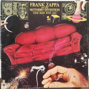 LP - Frank Zappa And The Mothers - One Size Fits All