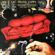 LP - Frank Zappa And The Mothers - One Size Fits All - Gatefold