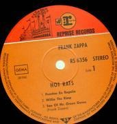 LP - Frank Zappa - Hot Rats - TWO TONE STEAMBOAT