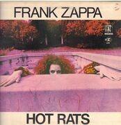 LP - Frank Zappa - Hot Rats - UK ORIGINAL TRI COLOUR STEAMBOAT