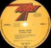LP - Frank Zappa - Studio Tan