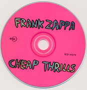 CD - Frank Zappa - Cheap Thrills
