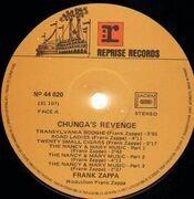 LP - Frank Zappa - Chunga's Revenge - France