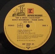 LP - Frank Zappa - Hot Rats - Art & Music Collection