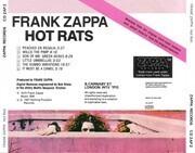 CD - Frank Zappa - Hot Rats