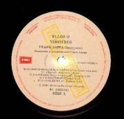 Double LP - Frank Zappa - Them Or Us - Promo