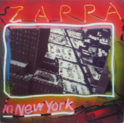Double LP - Frank Zappa - Zappa In New York