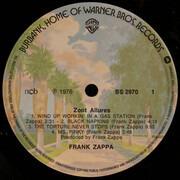 LP - Frank Zappa - Zoot Allures